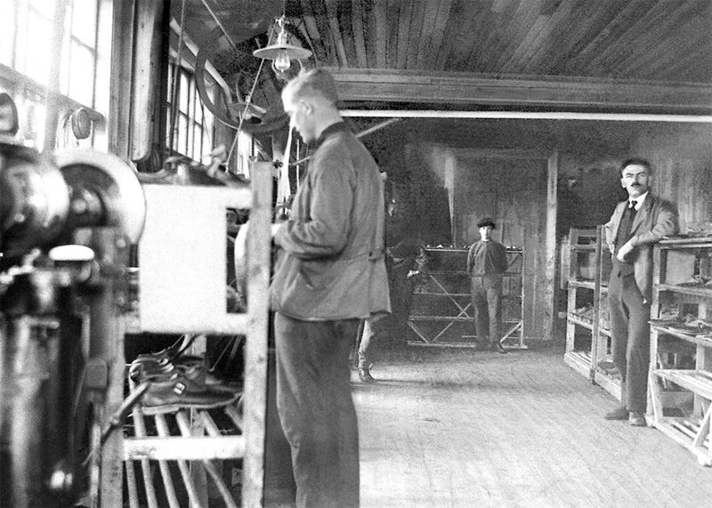 Skofabriken interiör